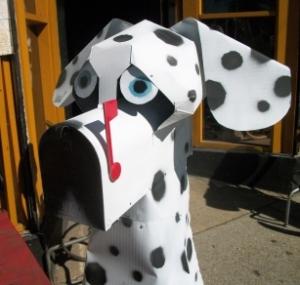 Dalmatian mailbox in Nashville
