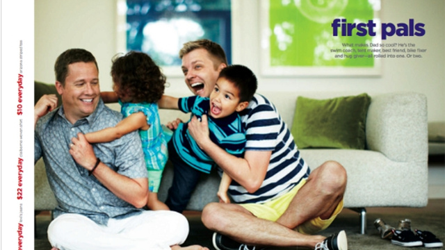 J C Penney father's day ad