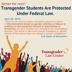 graphic from Transgender Law Center